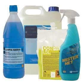 Chemical products for cleanliness.