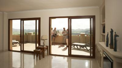 Sliding doors, designed especially for large openings or where space is a key issue
