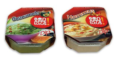 CHILLED DIPS AND SAUCES