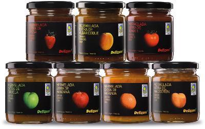 Organic fruits jam