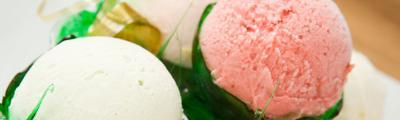 Natural pastes for the preparation of ice cream flavors