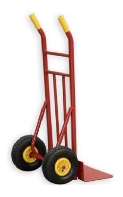 Cart store wide blade, solid wheel