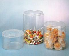 Container with a lid pressure