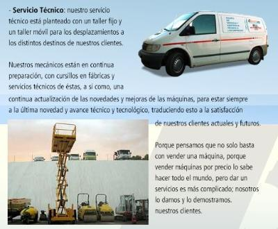 Technical Service (mobile workshop) of industrial and agricultural machinery.