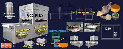 Vacuum sealing machinery