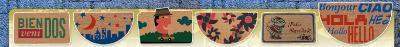 Mats in different varieties: coir mats, coir fabric, rubber , corporate, etc ...