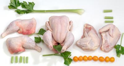Fresh poultry meat