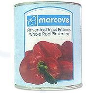 Canned peeled peppers