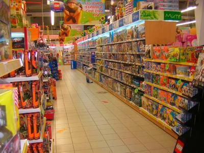 Shelves for toys