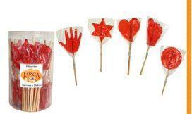 Lollipops, sweets, etc