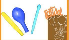 Balloons, fireworks, toys, etc