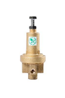 Three way pressure reducing/sustaining metalic pilot
