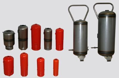 1kg, 2kg, 3kg, 4kg, 6kg, 9kg, 12kg, 25kg and 50kg extinguisher bottles. Automatic: 6 and 9kg.