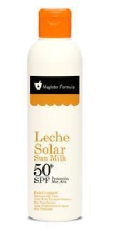 Solar line. Sun milk