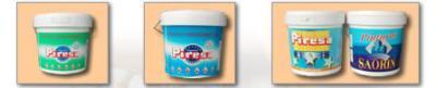 Glossy emulsion paint
