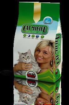 Compound foodstuff complete for cats