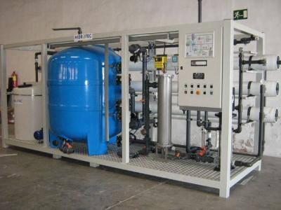 Nanofiltration compact plants.