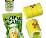 Wrapped. Nuclear gum