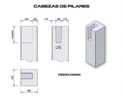 Prefabricated cement items for industrial and residential construction purposes