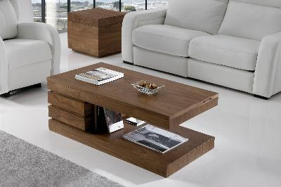 Showcase elevable center table