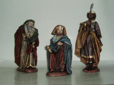 Nativity crafts: Kings