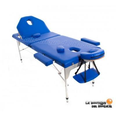 Folding massage beds