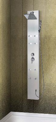 Hydromassage shower columns