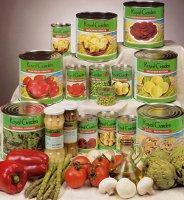 Canned artichokes