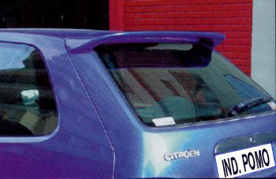 Upper spoiler car