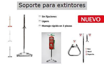 Fire extinguising mounts
