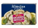 Canned clam of the Galician sea
