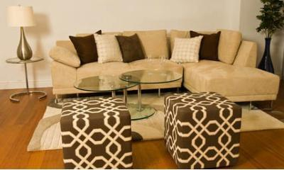 Sofa with cheslong