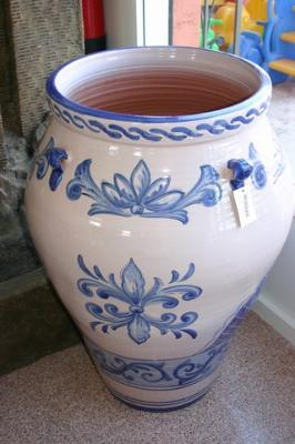 Ceramic vessels.