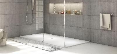 Shower trays and compact slimline slate