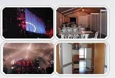Presentations, meetings and conferences, premieres and corporative parties.