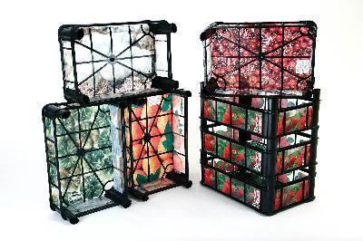 Decorated crate