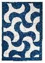 Hand-woven cotton rugs. Short pile, double woven.