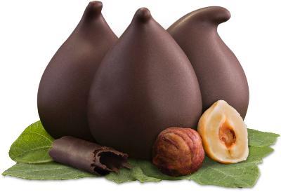 Figs stuffed with praline
