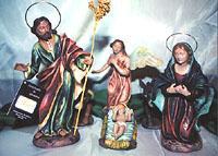 Ceramic Nativity scenes