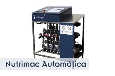 Nutrimac 5 is a complete system for the control of irrigation and Fertigation
