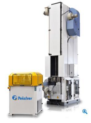 Lacquering, sealing and edging equipment, HV furnaces, rotary heads