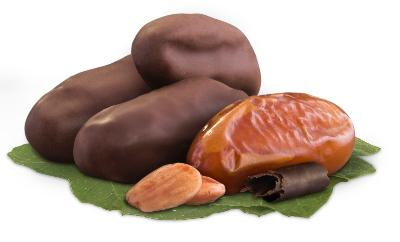 Date stuffed with almond