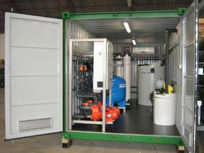 Compact an containerized plants of micro and ultrafiltration.