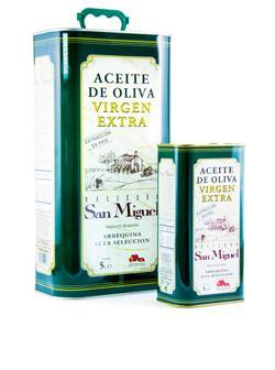Extra Virgin Olive Oil Hacienda San Miguel in tin can