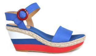 Lady jute shoes, model spring / summer KV2160 Otoman