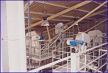 Complete granulation facilities