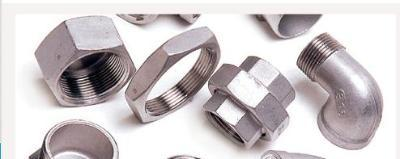Innoxidable steel accessories for threading