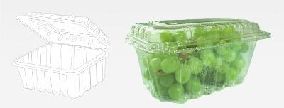 This packaging ensures an optimal presentation for the fruit, made of PET material of high quality that provides great transparency and excellent mechanical resistance