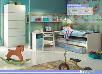 Bedroom furniture for children and young people