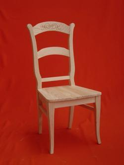Raw chair, unfinished